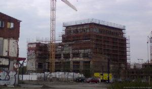 Flaschenturm Alt-Stralau Umbau