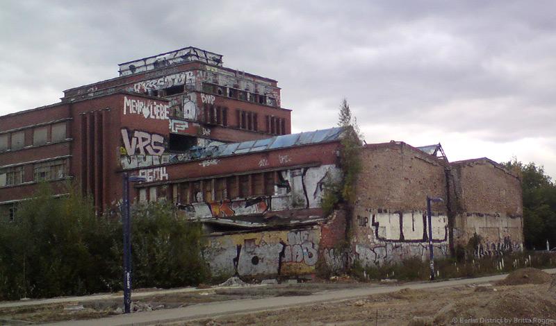 Flaschenturm Alt-Stralau Ruine