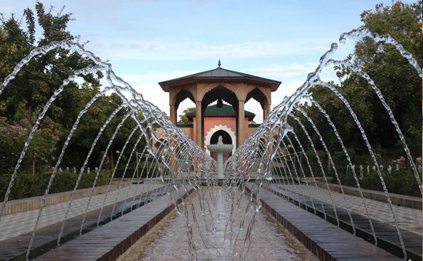 Arabischer Garten
