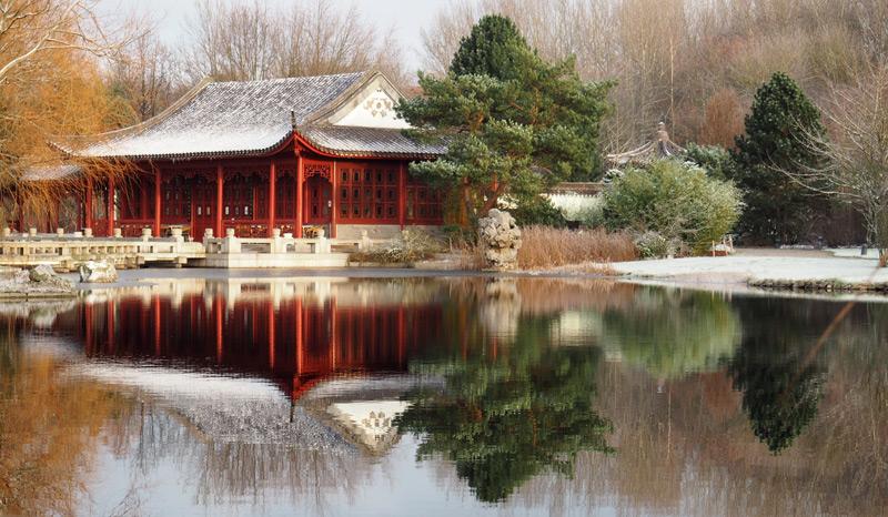 Gärten der Welt im Winter