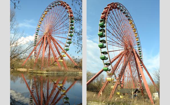 Spreepark Berlin Riesenrad