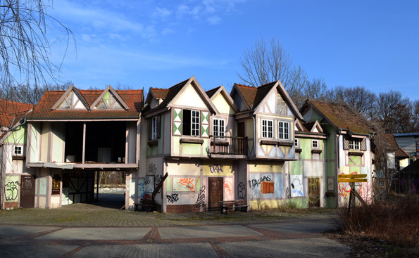 Spreepark Berlin Ruinen