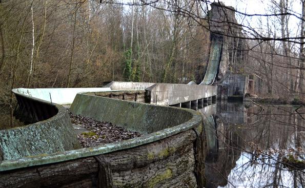 Spreepark Wasserbahn