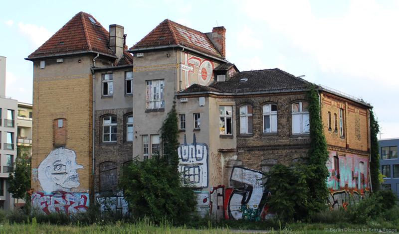 Verwaltungsgebäude Alt-Stralau Rückansicht