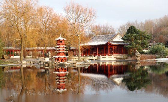 Vier Jahreszeiten ind en Gärten der Welt